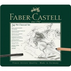 Pitt Charcoal set Faber Catell