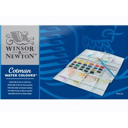 Cotman water colours set 26pz