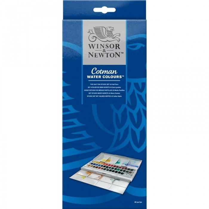 Cotman water colours set 46pz