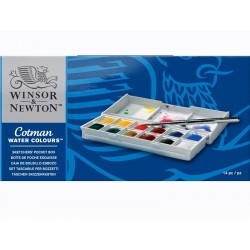 Cotman water colours Sketcher pocket box