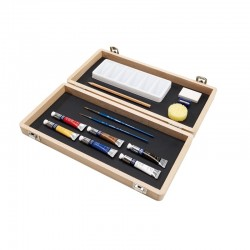 Cotman water colours small art box