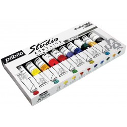 Studio Acrylic Set Pebeo 10x20ml