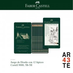 12 Castell 9000 Design set