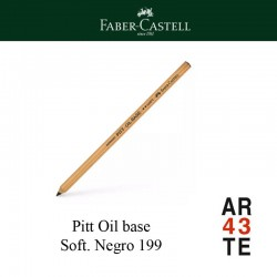 Lápiz Pitt Oil Base soft negro199