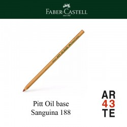 lápiz pitt oil base Sanguina 188
