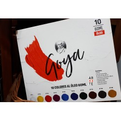 Maletin Goya 10 colores al óleo 60ml