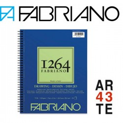 1264 Drawing Paper 180g. Fabriano. Espiral